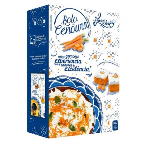 Bolo de Cenoura