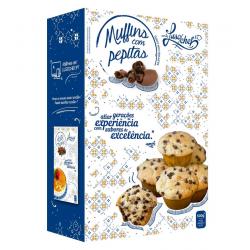 Muffins com Pepitas