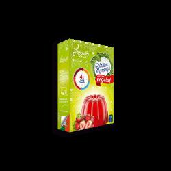 Gelatina 100% Vegetal - Morango